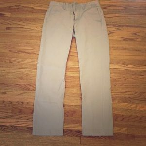 J. Crew Men's Urban Slim 29x32 Grey Chino Pants